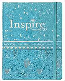 NLT INSPIRE BIBLE FOR GIRLS, BLUE