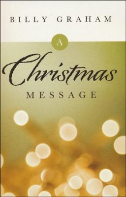 TRACT: A CHRISTMAS MESSAGE (PACK OF 25)