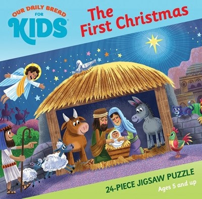 FIRST CHRISTMAS, 24 JIGSAW PUZZLE