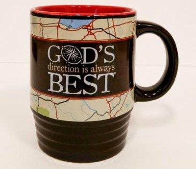 MUG:GOD'S DIRECTION IS ALWAYS BEST