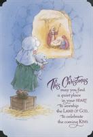 BUDGET 6 PK CHRISTMAS CARD:K