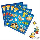 NATIVITY STICKERS (PACK OF 15)