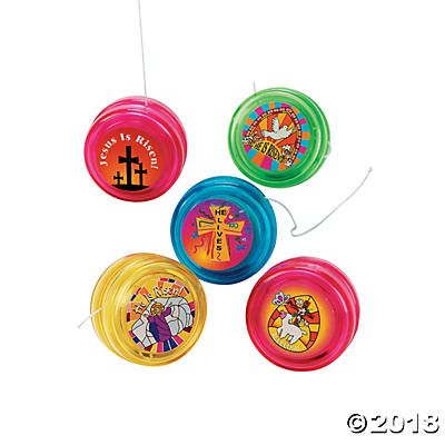 HE LIVES MINI YOYOS PACK OF 12