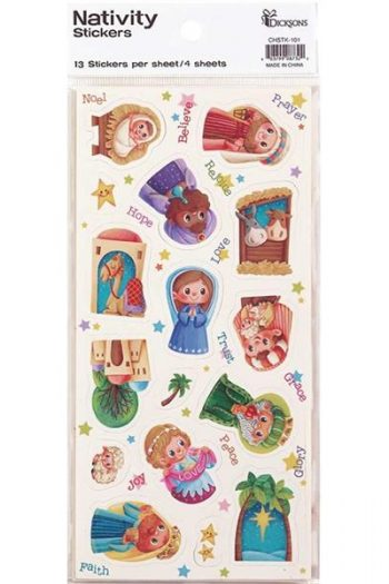 STICKER:CHILDREN'S NATIVITY