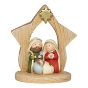 NATIVITY:HOLY FAMILY STAR