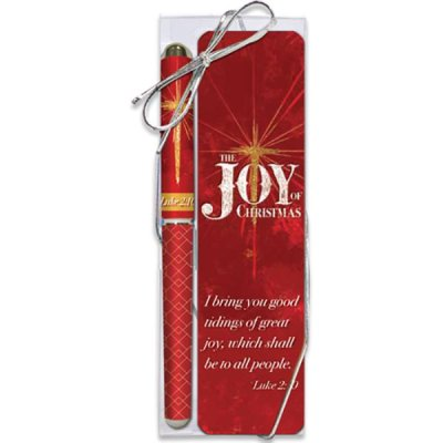 JOY OF CHRISTMAS PEN&BOOKMARK