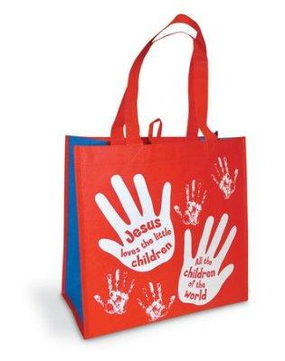 TOTE BAG:JESUS LOVES THE LITTLE CHILDREN
