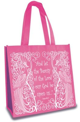 TOTE BAG:AND LET THE BEAUTY