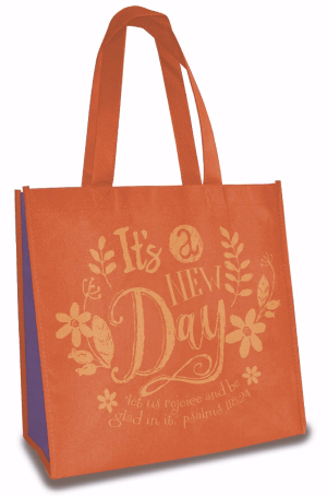 TOTE BAG:ITS A NEW DAY