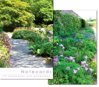 NOTECARDS:GARDEN AND PATH