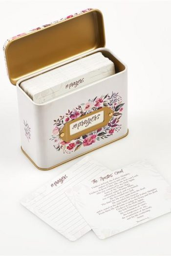 PRAYER CARDS IN A TIN:MY PRAYERS