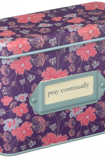 PRAYER CARDS IN A TIN:PRAY CONTINUALLY