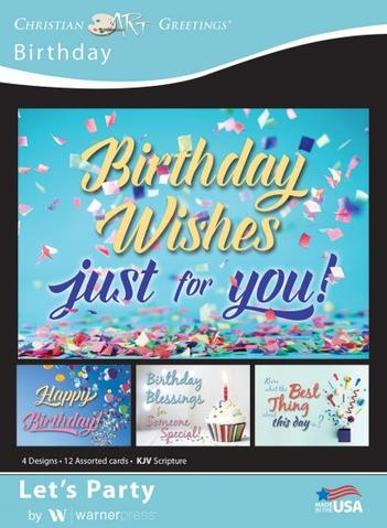 BOXED CARDS: BIRTHDAY LET'S PARTY