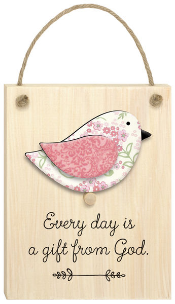 CHIRPS PLAQUE: EVERY DAY WITH GOD