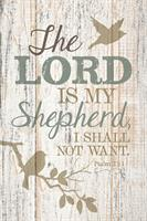 PLAQUE : THE LORD IS MY SHEPHERD