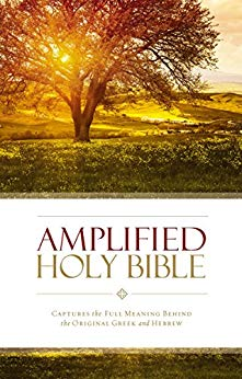 AMPLIFIED HOLY BIBLE H/COVER