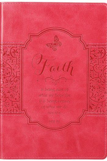 JOURNAL:LUXLEATHER FAITH PINK