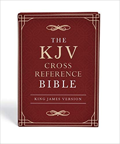 KJV CROSS REFERENCE BIBLE H/COVER