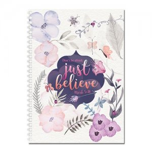 JOURNAL:DON'T BE AFRAID; JUST BELIEVE