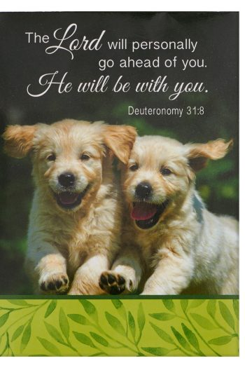 NOTEPAD: HE WILL BE WITH YOU