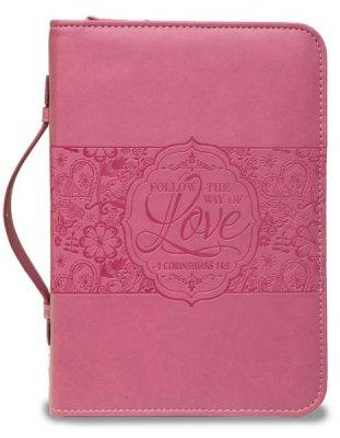 BIBLE COVER: ROSE FOLLOW THE WAY OF LOVE