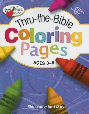 THRU-THE-BIBLE COLORING PAGES 3-6