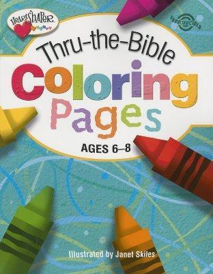 THRU-THE-BIBLE COLORING PAGES 6-8