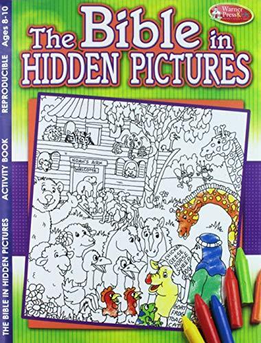 ACTIVITY BOOK: BIBLE IN HIDDEN PICTURES