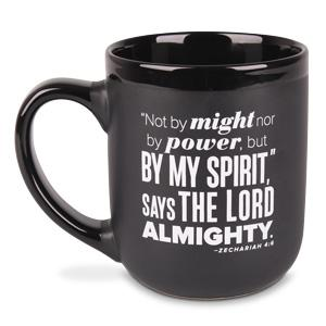 MUG: BY MY SPIRIT BLACK