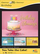 BOXED CARDS: BIRTHDAY-TAKE THE CAKE