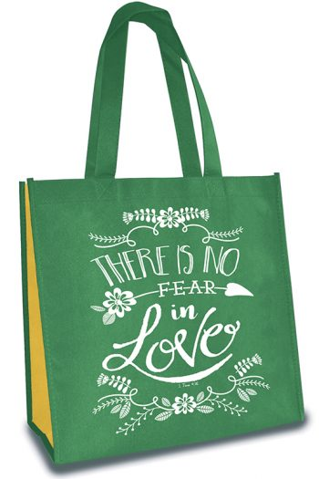 TOTE BAG THERE IS NO FEAR IN LOVE