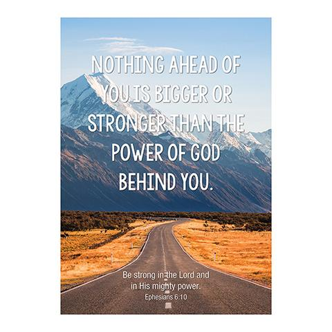 POSTER LGE: NOTHING AHEAD OF YOU
