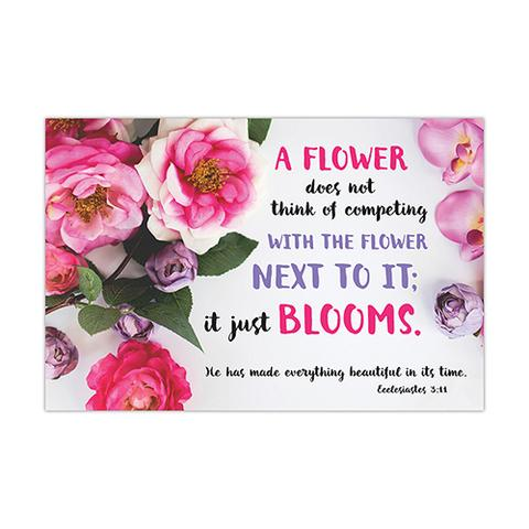 POSTER SMALL: A FLOWER