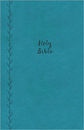 KJV THINLINE BIBLE LGE PRINT TEAL