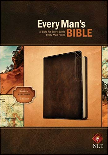 NLT EVERY MAN'S BIBLE DELUXE EXPLORER