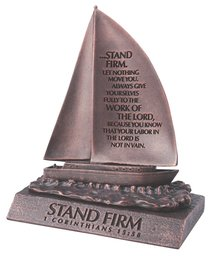 STAND FIRM BRONZE SCULPTURE:STAND FIRM