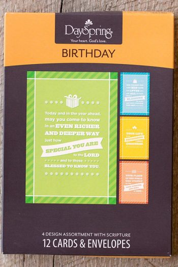 BOXED CARDS BIRTHDAY