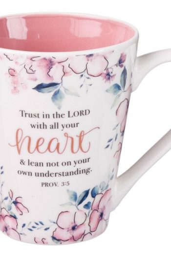 CERAMIC MUG: TRUST IN THE LORD