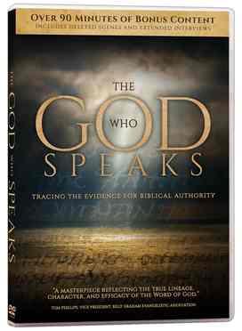GOD WHO SPEAKS, THE