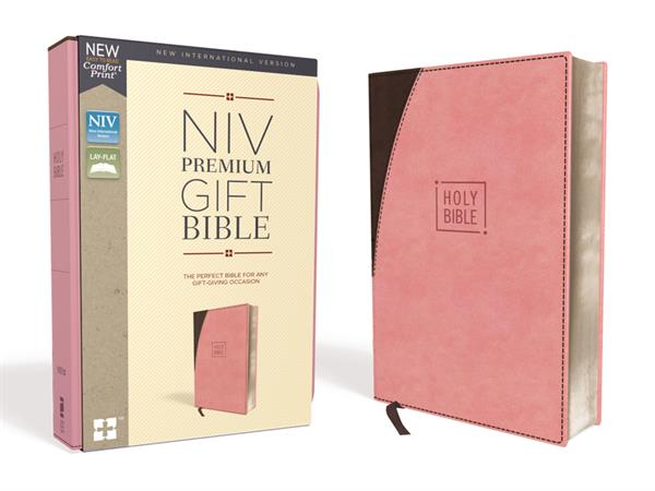 NIV PREMIUM GIFT BIBLE PINK