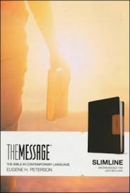 THE MESSAGE SLIMLINE TAN/BROWN