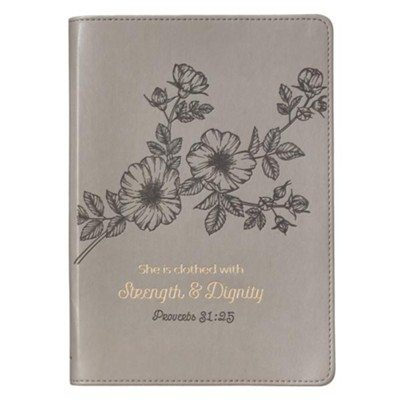 JOURNAL SLIM LINE: STRENGTH & DIGNITY
