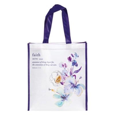 NON-WOVEN TOTE BAG: FAITH