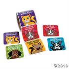 LARGE STICKERS: DOGS AND CAT ROLL