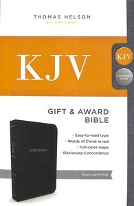 KJV GIFT & AWARD BIBLE BLACK