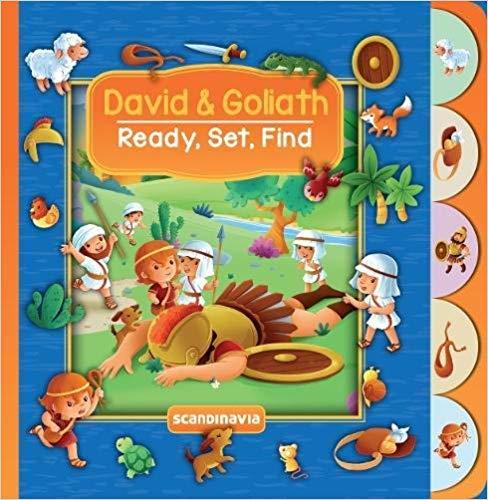 DAVID AND GOLIATH- READY SET FIND