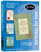 BOXED CARDS:BIRTHDAY FOR HIM
