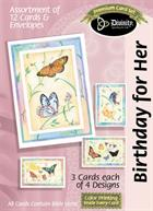 BOXED CARDS: BIRTHDAY FOR HER BUTTERFLY