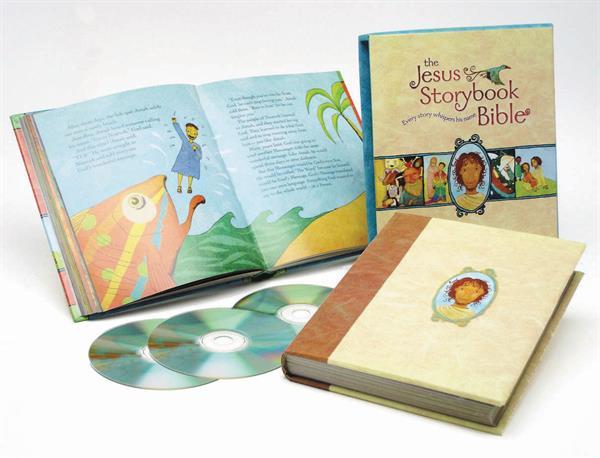 JESUS STORYBOOK BIBLE:DELUXE ED