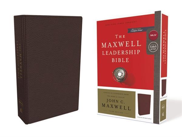 NKJV MAXWELL LEADERSHIP BURGUNDY BIBLE